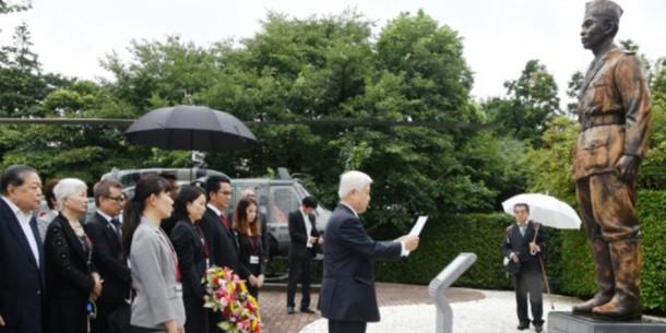 Patung Jenderal Soedirman di Jepang | kbritokyo.jp