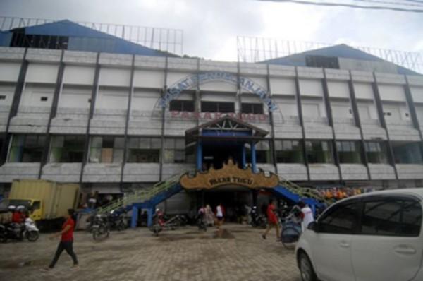 Relokasi PKL Pasar Tugu Bandar Lampung Tertunda