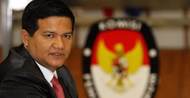 Ketua KPU Husni Kamil Malik | ist