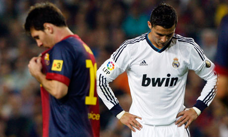 Messi dan Ronaldo | The Guardian