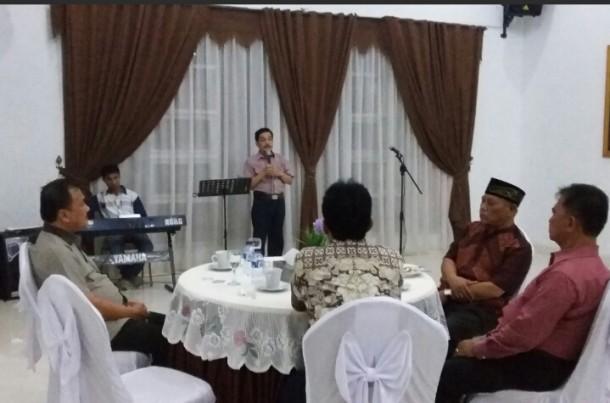 Pj Walikota Metro Gelar Ramah Tamah Dengan Awak Media