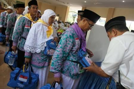 Hari Ini Calhaj asal Tulangbawang, Mesuji dan Bandar Lampung Masuk Asrama Islamic Centre