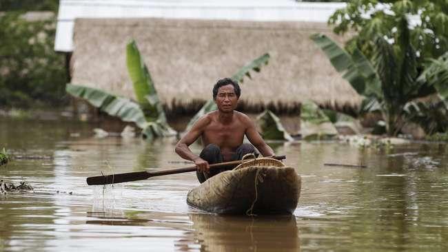 Atasi Banjir, Myanmar Minta Bantuan Internasional