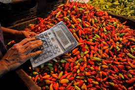 Pemilik Warung Makan di Pasar Nuban Metro Pilih Cabai Gunung Meski Harga Melambung