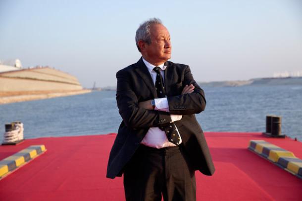 Naguib Sawiris mengungkapkan rencananya membeli pulau untuk menampung ribuan pengungsi yang datang ke Eropa | Photographer: Shawn Baldwin/Bloomberg via Getty Images