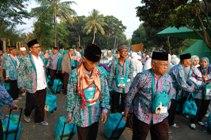 450 Calhaj Lampung Tengah Kloter 26 Berangkat ke Tanah Suci Hari Ini
