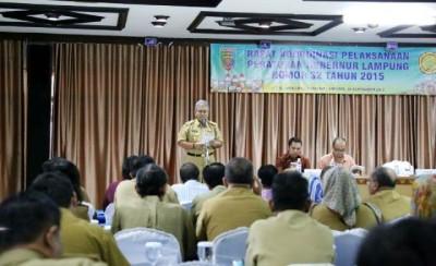 Pemprov Lampung Segera Ujicoba Pola Penyaluran Pupuk Bersubsidi