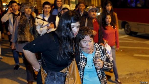 Dilanda Gempa dan Tsunami, Jutaan Warga Cile Dievakuasi