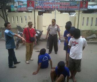 Lagi, Polisi di Lamteng Tangkap Pelajar SMP Pelaku Begal