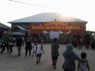 Stan Brigade Infanteri 3 Marinir dalam Lampung Fair 2015 | Widya/jejamo.com