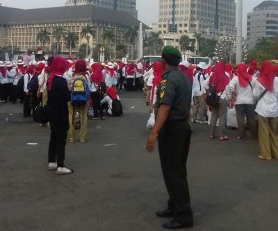 Demo bidan di  Jakarta | Okezone