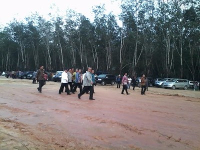Groundbreaking Tol Lampung | Widya/jejamo.com
