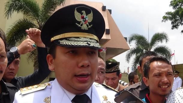 Gubernur Lampung Ridho Ficardo | Widya/jejamo.com
