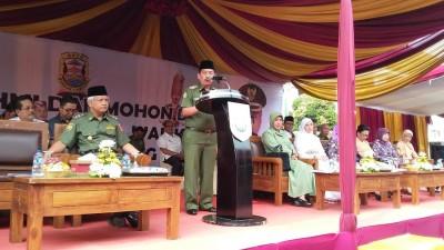 Walikota Bandar Lampung Herman HN Undur Diri