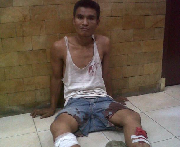 Johan Arifin (24), warga Tanjungratu, Way Pengubuan, tersangka kasus begal dan pencurian sepeda motor | Raeza/jejamo.com