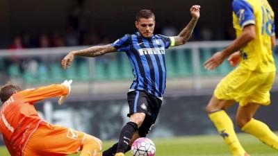 Icardi Beri Inter Kemenangan di Kandang Chievo