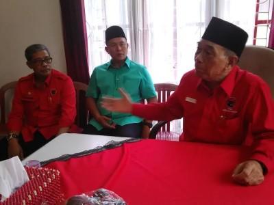 Bambang Suryadi Minta Kader DPC PDIP Lamteng Bulat Dukung Mustafa-Loekman