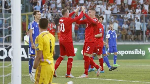 Lumat San Marino, Inggris Lolos ke Piala Eropa 2016
