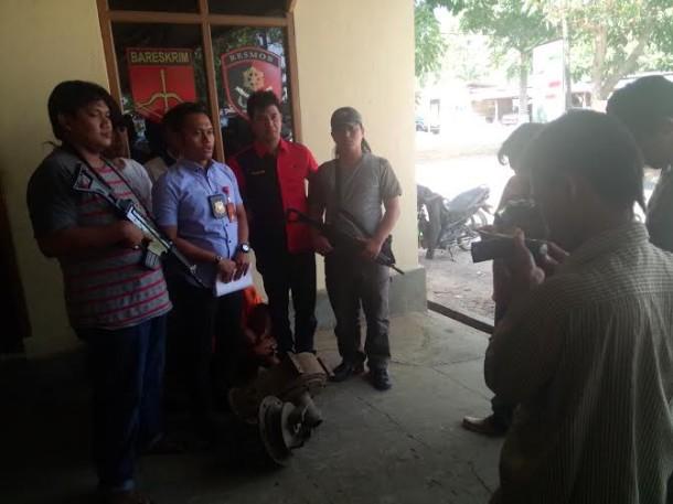 Polisi Tembak Betis Pelaku Pencurian Sapi di Lampung Tengah