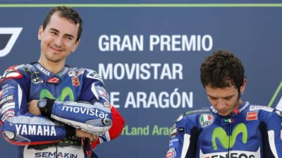 Podium MotoGP Aragon |  Reuters