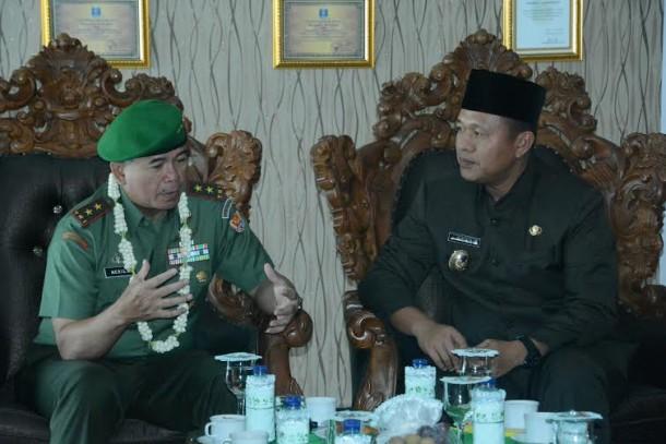 Mayjend Meris Wiryadi Puji Forum Keamanan Kecamatan Lamteng