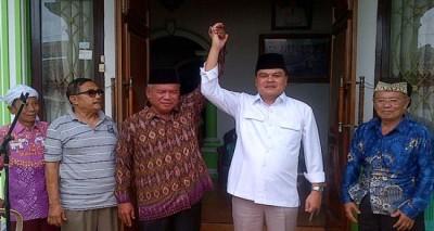 Pasangan calon nomor urut empat Mudiyanto Thoyib-Musa Ahmad | ist
