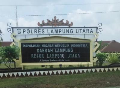 Mapolres Lampung Utara | Yoan/jejamo.com