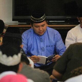 Jelang berangkat haji Gubernur Lampung gelar pengajian | widya/jejamo.com