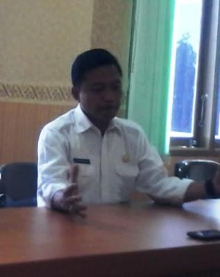 Kepala Bagian Tata Usaha Badan Pertanahan Nasional ( BPN ) Provinsi Lampung Ridwan Jauhari | Widya/jejamo.com