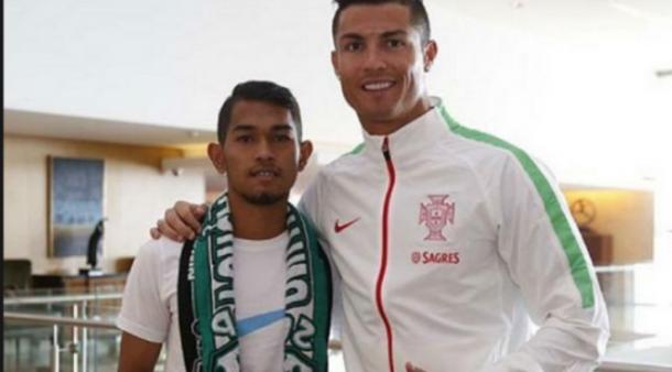 Ronaldo Reunian dengan Martunis