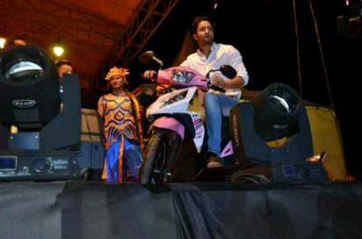 Saheer Sheikh Hibur Pengunjung Lampung Fair