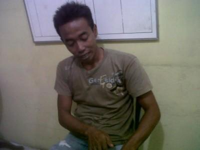 Adi Yanto (30), sopir truk pelindas ibu paruh baya Esti Suryati | Raeza/jejamo.com