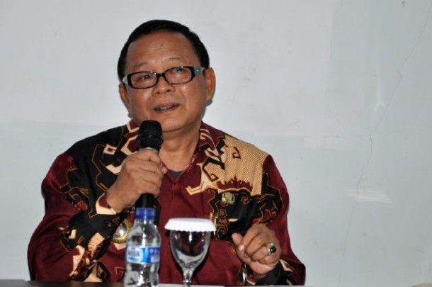 Plt Kadis Kominfo Lampung Sumarju Saeni | widya/jejamo.com