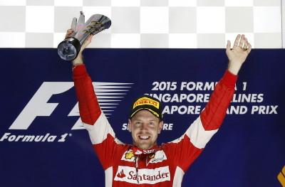 Vettel Ungkap Kunci Sukses di GP Singapura