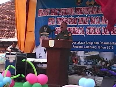 Wagub Lampung Bachtiar Hadiri Peringatan Hari Perpustakaan