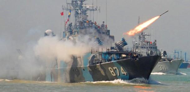 Armada perang TNI AL | ist