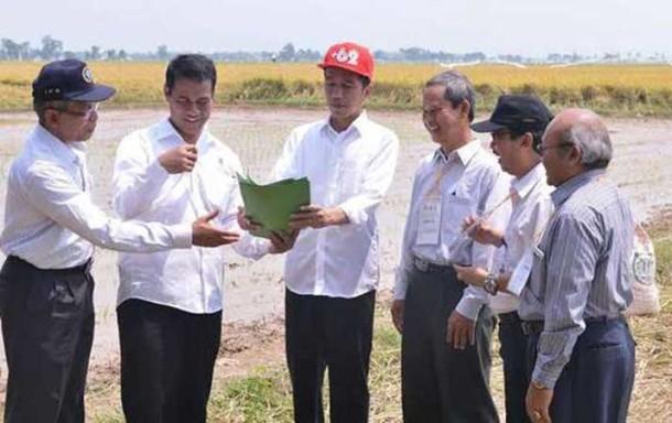 Topi Merah Ala Raper Jokowi