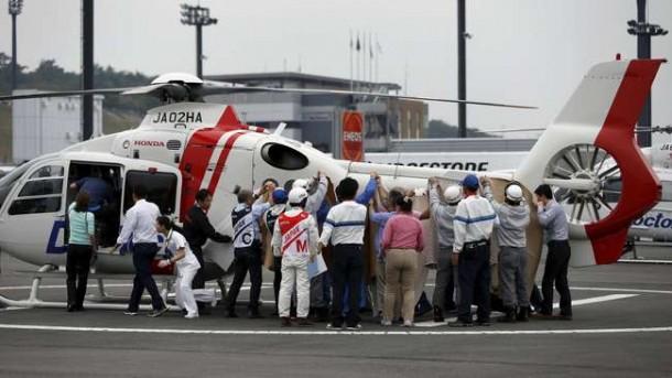 Alex de Angelis Kritis Usai Kecelakaan di Motegi Jepang