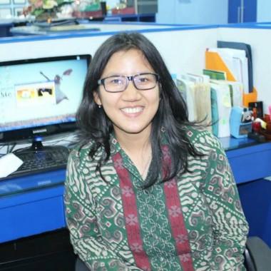 Model Junvo Production Lampung Tri Utami, Pernah Adu Akting dengan Aliando Syarif