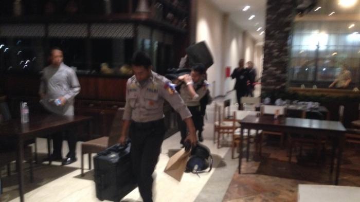Polisi Tangkap Orang Diduga Terkait Ledakan Alam Sutera