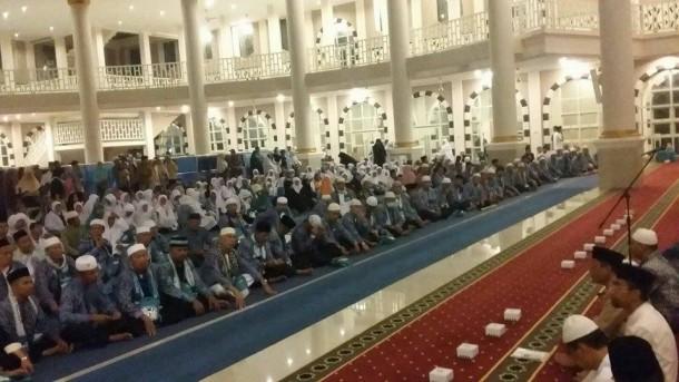 Abdul Hakim Sambut Kedatangan Jamaah Haji Kota Metro Lampung