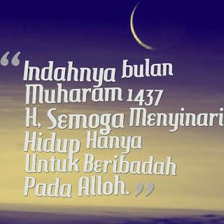 Warga Lampung Ramai Pasang DP Selamat Tahun Baru Islam 1437 H