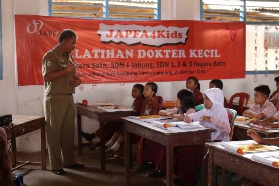 Program dokter kecil yang digagas Japfa Comfeed lewat program Japfa4Kids. | Ist
