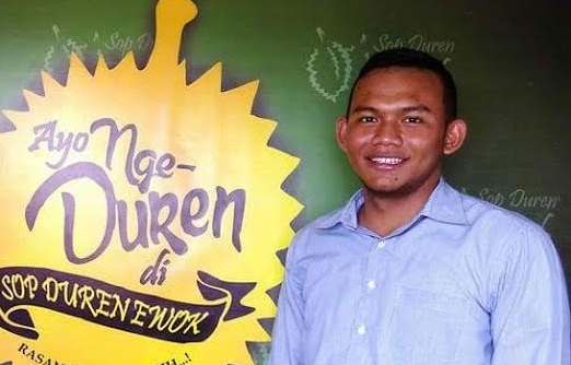 Faiz Pemilik Sop Duren Ewok Belajar Usaha dari Pedagang Pinggir Jalan