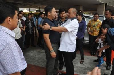 Pulang Haji, Gubernur Lampung Ridho Ficardo Syukuran di Bintaro