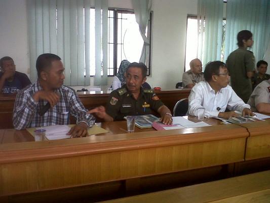 Relawan Broniz Sapa Warga Kedaton Bandar Lampung