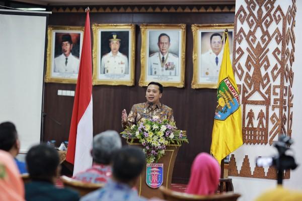 Gubernur Lampung Buka Seminar Lampung Sehat Paripurna