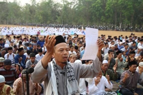Jamaah Muslimin Hizbullah Lampung Selatan Gelar Salat Istisqa