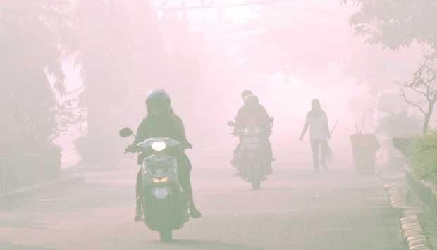Kabut Asap Menipis, BMKG Minta Warga Lampung Tetap Waspada