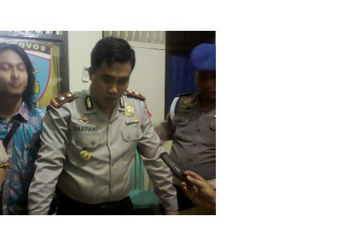 Kapolsekta Telukbetung Selatan Komisaris Sarpani. | Sugiono/Jejamo.com